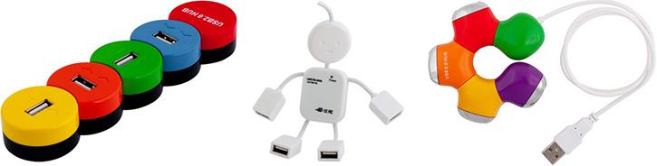 Разветвители USB PC PET