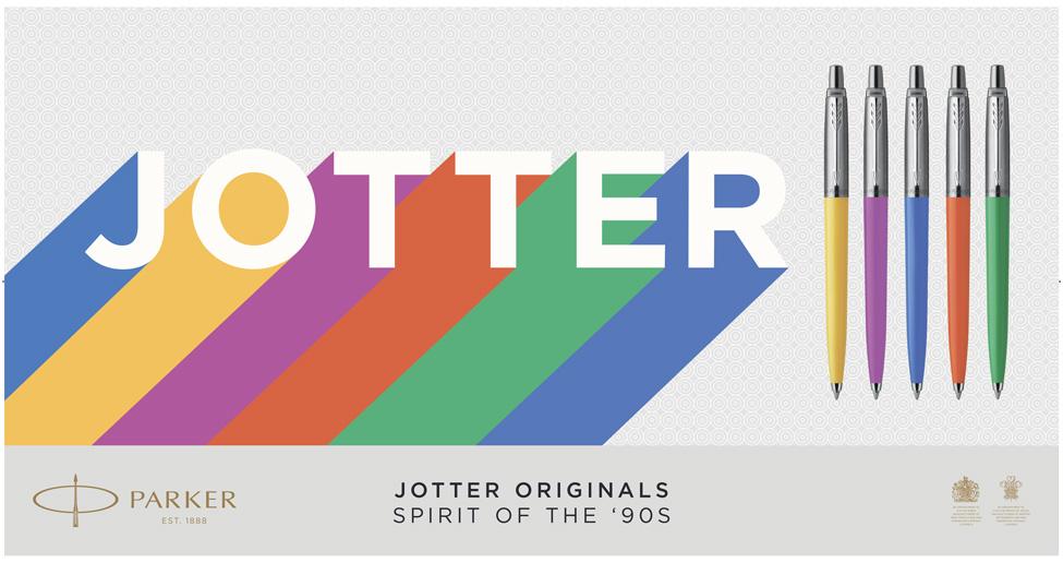 ручка Parker Jotter в пластиковом корпусе
