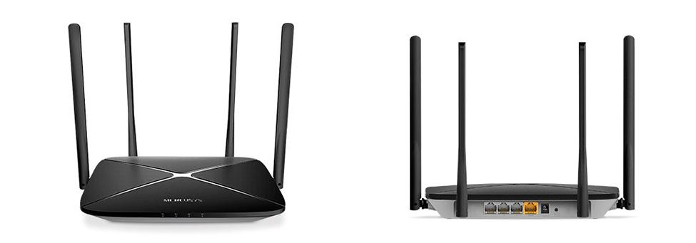 роутер Mercusys AC12G для сверхскоростного Wi-Fi