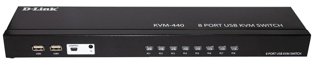 переключатель KVM-440
