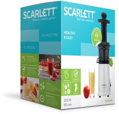 Витамины круглый год: новая соковыжималка Scarlett SC-JE50S55