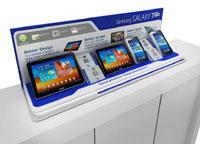 Samsung: дисплейная программа по коммуникаторам и планшетам