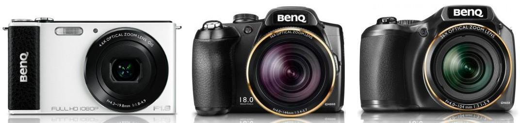 Бонус $10 за каждую пару при закупке комплекта из 2 разных моделей фотокамер BenQ!