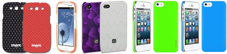 Чехлы для iPhone и Galaxy S III от Tech21, Merc, Araree, Dicota и Vipo