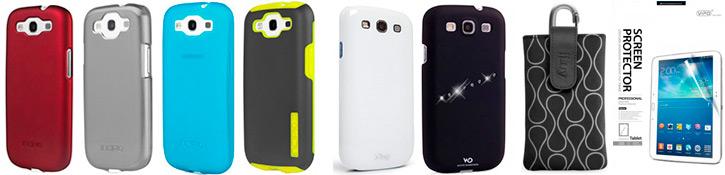 Чехлы для iPhone и Galaxy S III от Incipio, White Diamonds, iFrogz, iLuv и Vipo