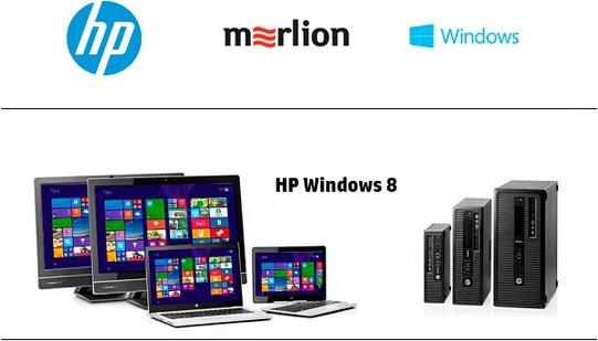 Ноутбуки и моноблоки НР на базе операционной системы Windows 8 Pro