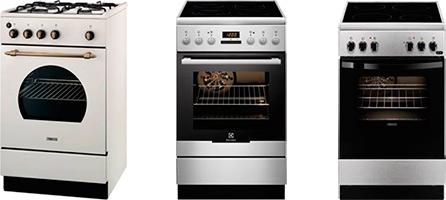 Кухонные плиты AEG, ELECTROLUX и ZANUSSI
