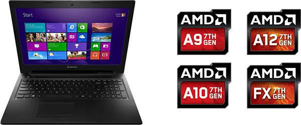 Ноутбуки Lenovo на процессоре AMD