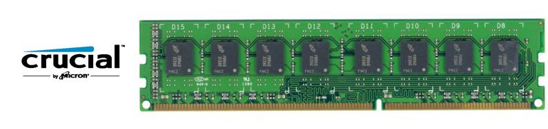 Акция по памяти Crucial объёмом 8gb