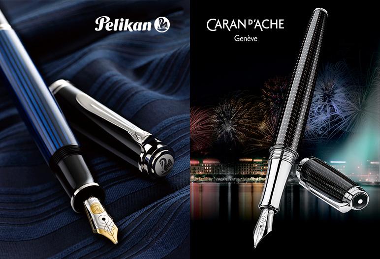 Золотая пора: акция от Caran d'Ache и Pelikan