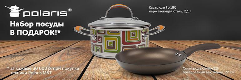 набор посуды Polaris в подарок
