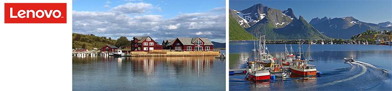 Секреты успешного лова: в Норвегию с Lenovo и MERLION! (потребительские ноутбуки)