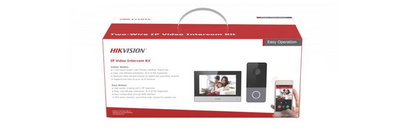 IP-комплект видеодомофонии Hikvision