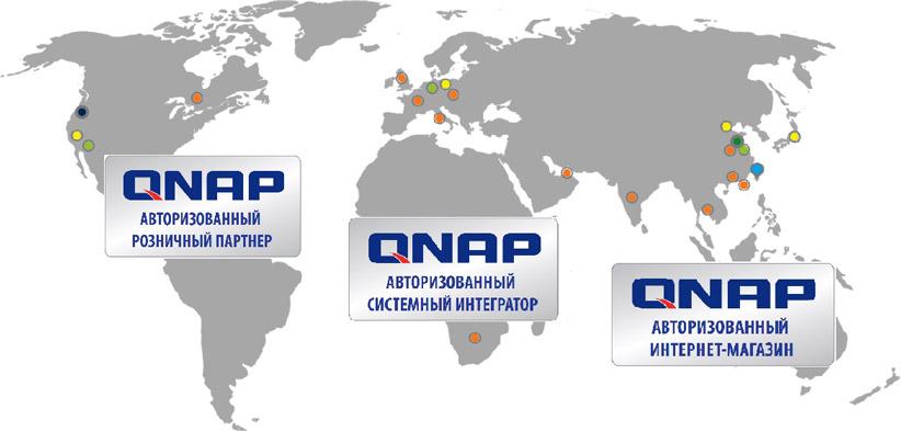 Программа партнерской авторизации QNAP 2021