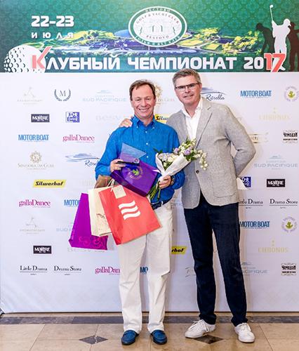 MERLION стал партнер турнира по гольфу