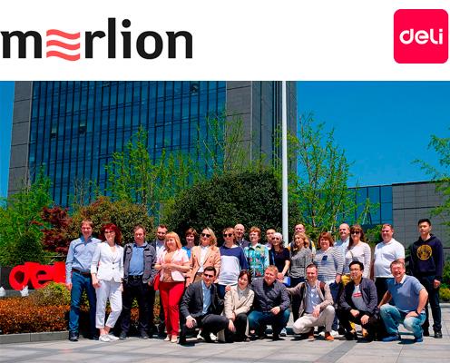 Партнеры MERLION посетили производство Deli