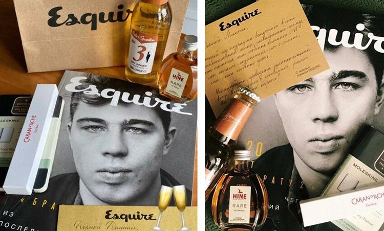 Caran d'Ache, Moleskine и Esquire: для умных, творческих и разборчивых