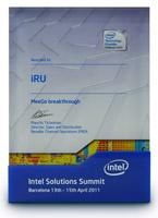 Корпорация Intel вручила награду торговой марке iRU на конференции Intel Solutions Summit 2011