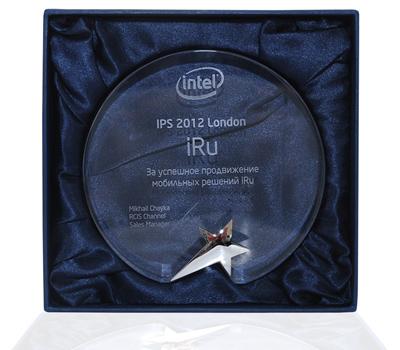 Корпорация Intel вручила награду торговой марке iRU