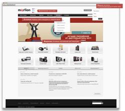 Открылся новый сайт MERLION