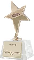 Samsung назвала MERLION лучшим B2B-партнером
