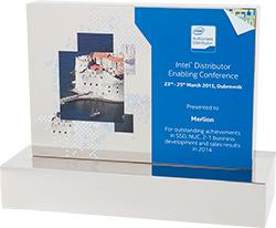 Intel наградила MERLION «За выдающиеся достижения в развития бизнеса»