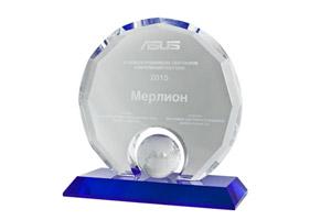 Компания ASUS наградила MERLION