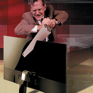 CRN: В падении. Российский рынок мониторов сократился на четверть