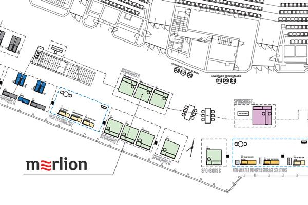 Стенд MERLION - №202 (2 уровень, зона G)