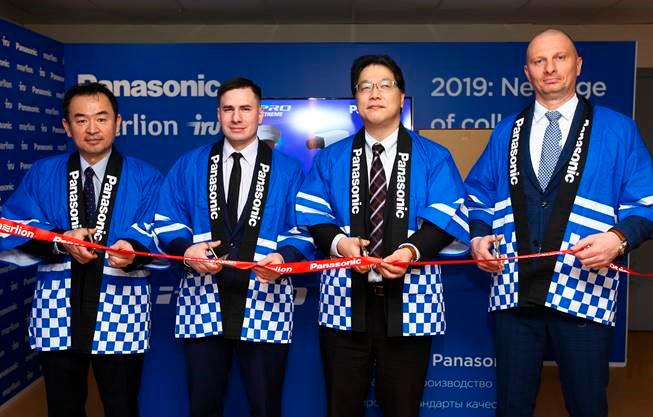 Panasonic и MERLION открыли производство IP-камер в России title=