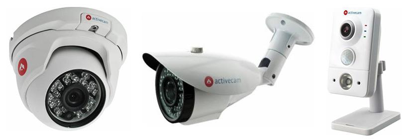Новые модели уличных и внутренних IP-видеокамер ACTIVECAM