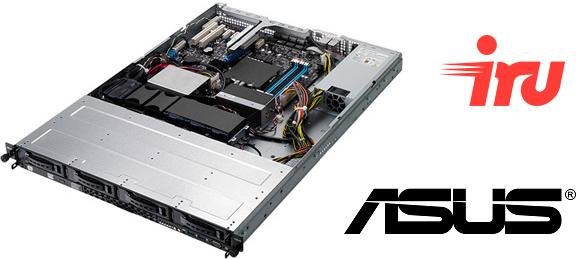 Серверы iRU на платформах ASUS