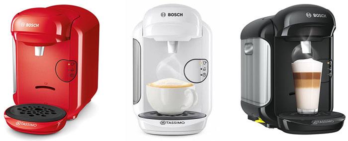 Новые капсульные кофемашины Bosch