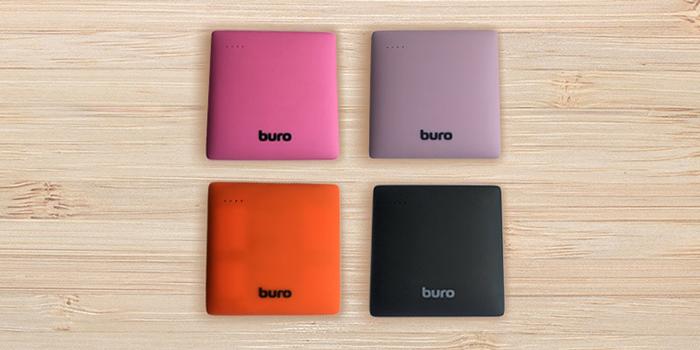 Мобильные аккумуляторы BURO