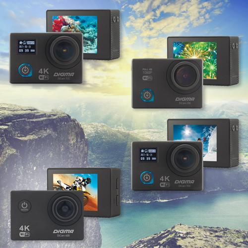 экшн-камеры от Digma