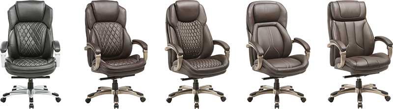 Новые кресла для руководителей ТМ «Бюрократ»