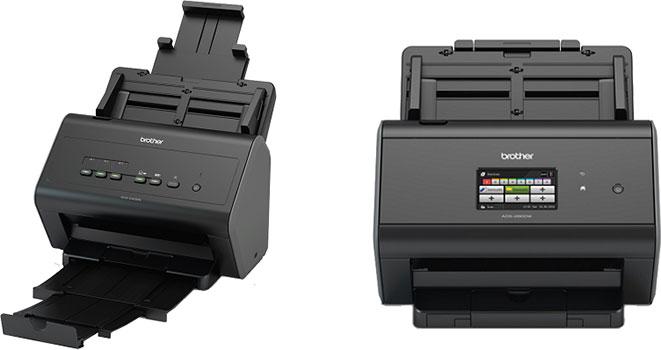 Сетевые сканеры Brother серии ADS 2.0