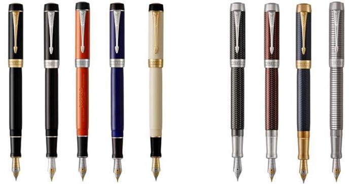 Ручки Parker Duofold