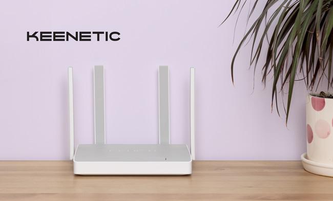 двухдиапазонный гигабитный интернет-центр с Wi-Fi от Keenetic