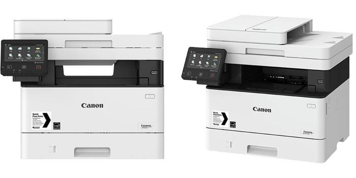 черно-белые A4 принтеры и МФУ i-SENSYS