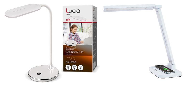 Торговая марка Lucia представляет функциональные и стильные настольные светильники