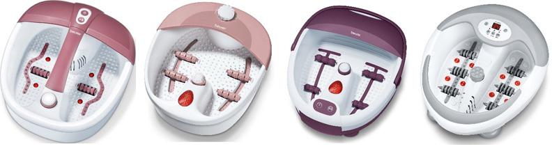 Spa-процедуры не выходя из дома: новые гидромассажные ванночки для ног от Beurer