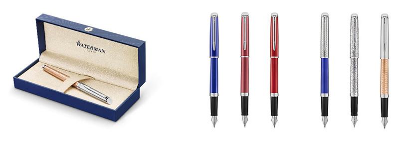 Ручки перьевые Waterman Hemisphere