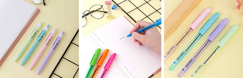 Шариковые ручки от Deli серии Arrow и X-tream