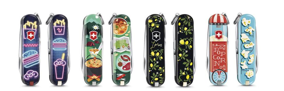 лимитированная серия ножей-брелоков от Victorinox