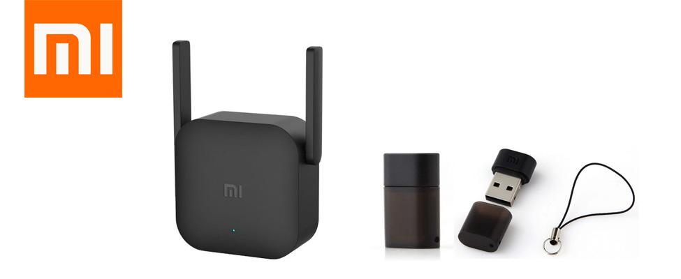 роутер Mi Wi-Fi и усилитель беспроводной сети с двумя антеннами