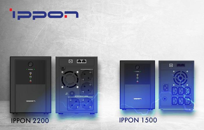IPPON Back Basic 1500/2200 – новые доступные ИБП