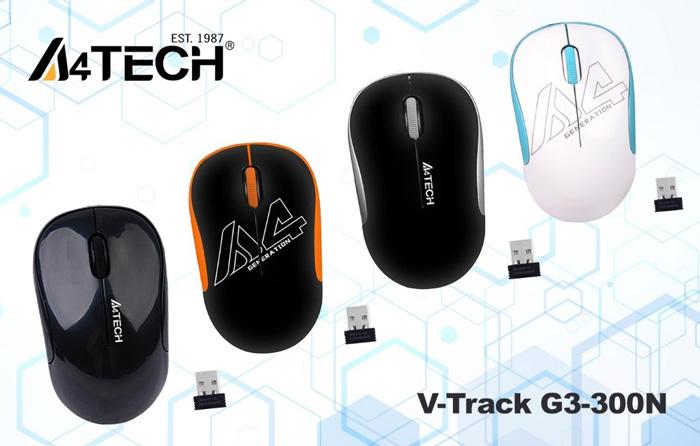 Беспроводная компьютерная мышь A4Tech V-Track G3-300N