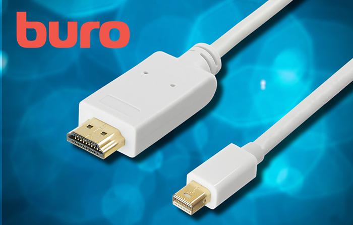 BURO представил новые кабели стандартов HDMI и DisplayPort