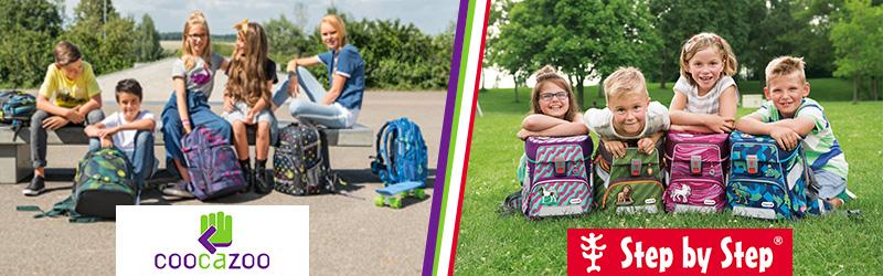 Hama представляет огромный выбор школьных ранцев и рюкзаков Baggymax, Coocazoo и Step by Step